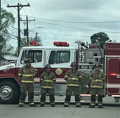 Cross Firefighter Gaston Fallen County Fire Department