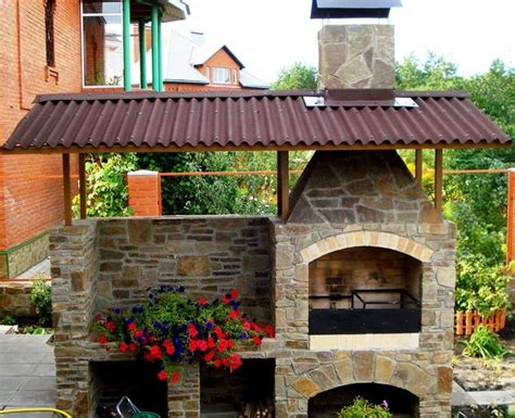 la cuisine d et design exterieur barbecue naturelle faire soi même
