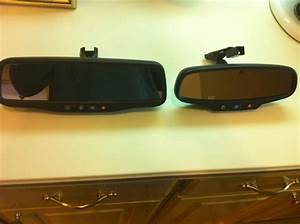 Retrofit Success  Gm Mirror With Backup Camera Lcd And