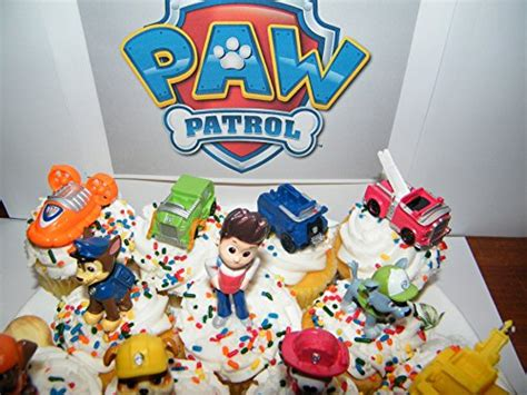 Nickelodeon Paw Patrol Figure Set Of  Deluxe Mini Cake