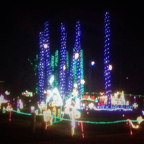 christmas lights 2013 in garner holly springs raleigh