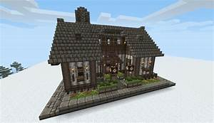 Minecraft Img For > Minecraft Small Medieval House ...