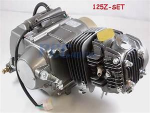 125cc Atv Pit Dirt Bike Motor Engine Xr50 Crf50 Xr70 Crf70