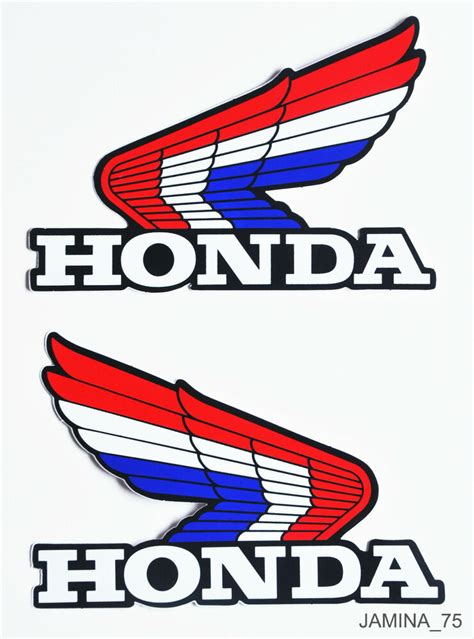 honda wing xr75 xr80 xr100 xr250 xr350 xr500 xr fuel gas tank decal sticker ebay