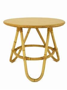 Table Basse Rotin : table basse tripode en rotin l 39 atelier de mr jacques mobilier vintage pour enfants ~ Teatrodelosmanantiales.com Idées de Décoration