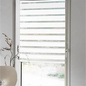 Store Jour Nuit Leroy Merlin : store enrouleur jour nuit polyester inspire blanc blanc n ~ Dailycaller-alerts.com Idées de Décoration
