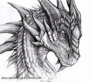 Top 30 Stunning And Realistic Dragon Drawings - Mashtrelo