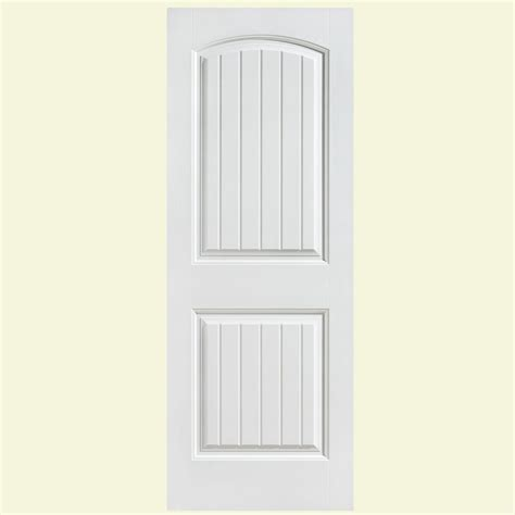 home depot hollow interior doors masonite 24 in x 80 in cheyenne smooth 2 panel camber