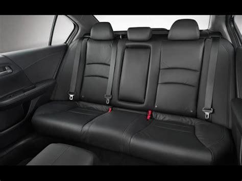 remove  rear seat    gen honda accord