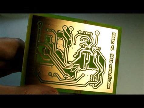 Circuit Skills Board Etching Youtube