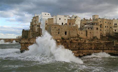 Tempesta A Polignano A Mare (ba) Foto % Immagini| Paesaggi