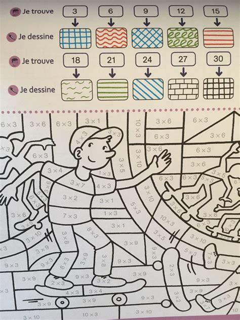 coloriages magiques pour apprendre les tables daddition