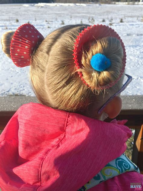 Crazy Hair Day Ideas Girls Cupcake Hairdo   Must Have Mom
