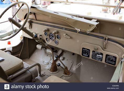 willys jeep interior wwii era willys jeep interior stock photo royalty free