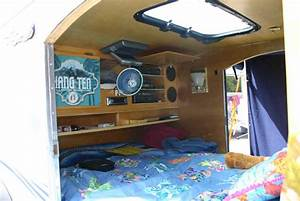Teardrop trailer interior interiors and trailer interior for Teardrop camper interior ideas