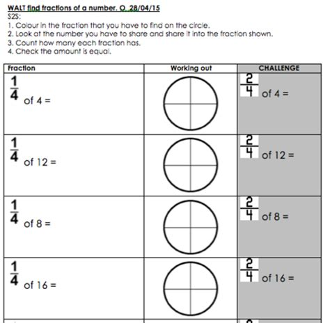 Finding Fractions Of Numbers  Amounts As Asked In Ks1 Sats  Sats, Math And Ks1 Maths