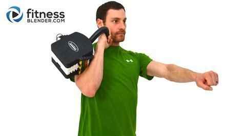 kettlebell workout minute fitnessblender fitness blender blast calorie