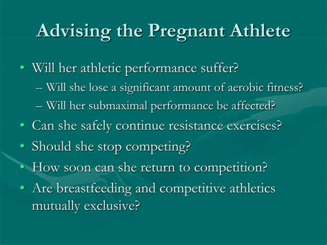 Ppt Exercise During Pregnancy Powerpoint Presentation