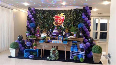 mesa decorada d desendientes decora 231 227 o descendentes no elo7 decor b1cdda
