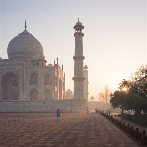 Dawn At The Taj Mahal Agra India Ben Pipe Photography