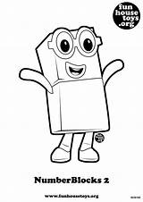 Numberblocks Coloring Pages Printable Toys Fun Number Block Colouring Printables Activities Sheets Numbers Funhousetoys Books Toddler Birthday Worksheets Olds Popular sketch template