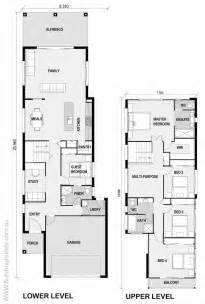 small narrow house plans las 25 mejores ideas sobre planos de vivienda estrecha en
