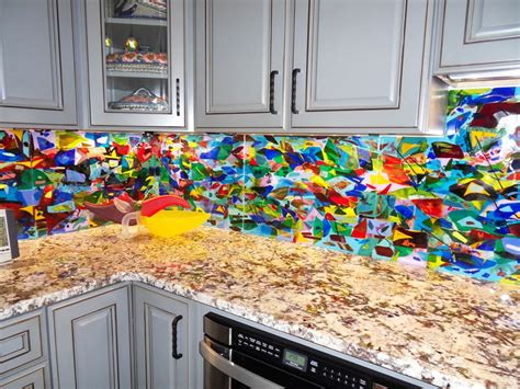 colorful kitchen backsplash colorful abstract kitchen backsplash designer glass mosaics designer glass mosaics