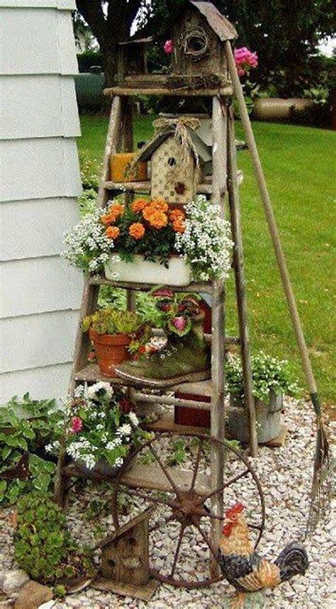 outdoor garden decor ideas re purposed garden ideas upcycle 3821