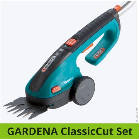 gardena grasschere akku gardena classiccut set vergleich akku grasschere