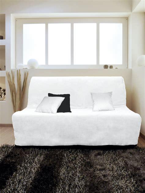 housse canapé bz housse pour canapé bz adaptable couleur blanc pas cher