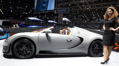 Geneva 2018 Bugatti Veyron Grand Sport Vitesse Live