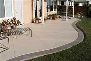 prix terrasse beton imprime 8 terrasse en beton ma With prix terrasse beton imprime