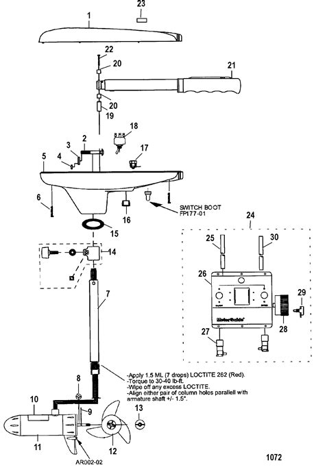 motorguide great white parts diagram impremedia net