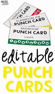 Editable punch pass cards bathroom pass classroom jobs for Bathroom pass punch card