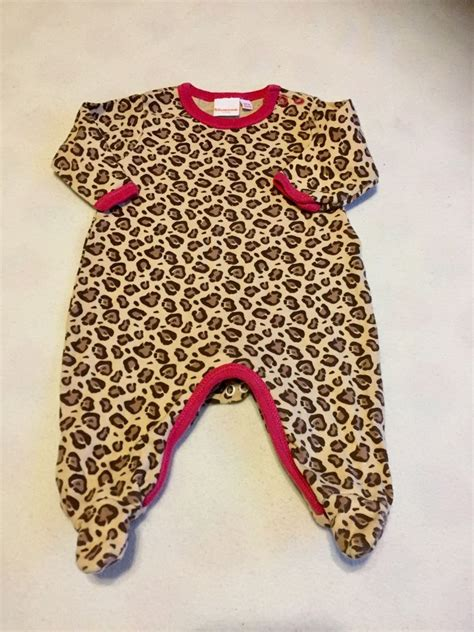 Baby Girls Clothes Newborn - Cute Animal Print Baby Grow Sleepsuit | eBay