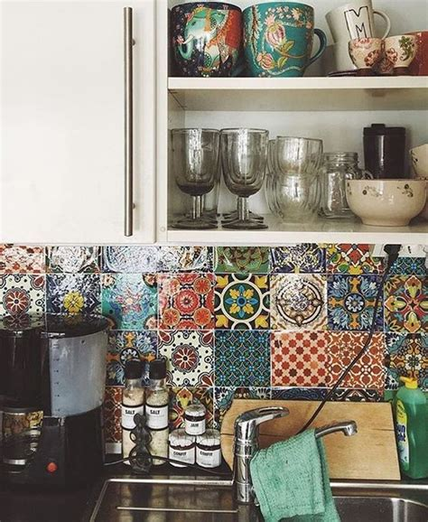 funky kitchen accessories inspiration add a touch of bohemian to your home 1121