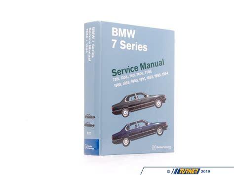 online service manuals 2002 bmw 7 series parking system b794 bentley service repair manual e32 bmw 7 series 1988 1994 turner motorsport