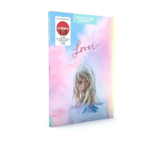 taylor swift lover target exclusive deluxe version  cd