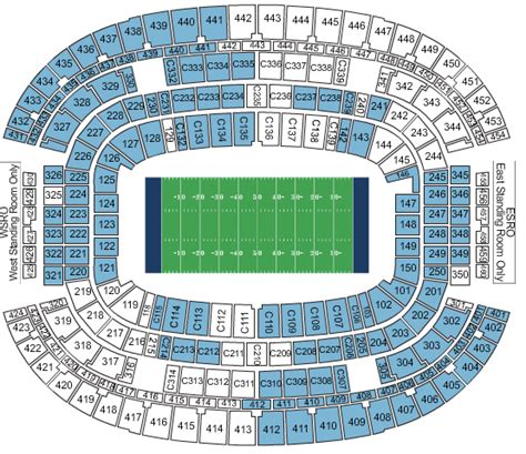 att stadium  preferred seats