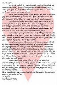 letter to my daughter quotes