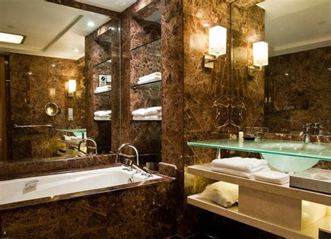bathroom mirror lighting ideas 18 sophisticated brown bathroom ideas home design lover