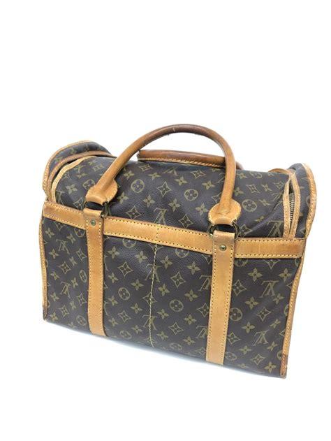 lot  louis vuitton monogram sac chaussures travel bag