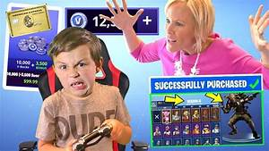 Kid Spends $200 on Fortnite and Buys 27,000+ V Bucks and ...