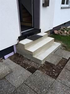 Blockstufen Beton Setzen : blockstufen setzen setzen von blockstufen in einer b schung mein gr nes nrw obolith ~ Orissabook.com Haus und Dekorationen