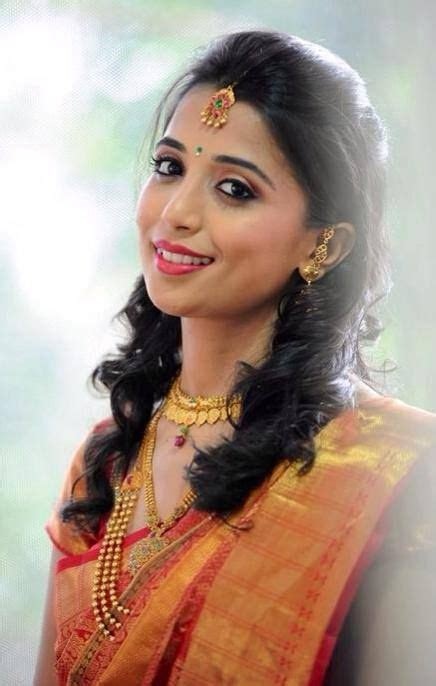 lovely smile gorgeous hair indianbride southindian