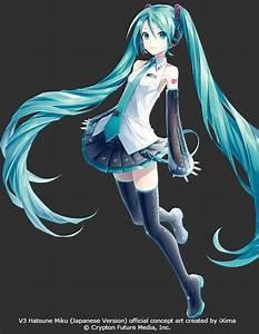 Vocaloid 3 Hatsune Miku - Vocaloids Photo (35849827) - Fanpop