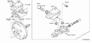 Nissan Versa Brake Master Cylinder