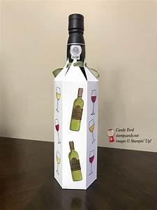 Stampin U0026 39  Blends Wine Bottle Cover For Rcbt