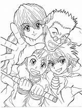 Hunter Coloring Killua Anime Gon Manga Coloriage Drawing Drawings Hisoka Characters Deviantart Printable Hunters Imprimer Zoldyck Coloriages Salvato sketch template