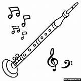 Oboe Coloring Instruments Musical Pages Drawing Instrument Thecolor Drawn Sheet Starting Letter Getdrawings sketch template